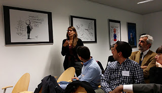 Project questions in the Press Club Brussels Europe. Image: PMC