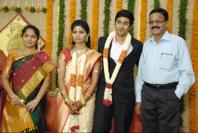 Here Are Some Snaps Of Celebrities At Chinmayi Sripada And Rahul Ravindrans Wedding Reception