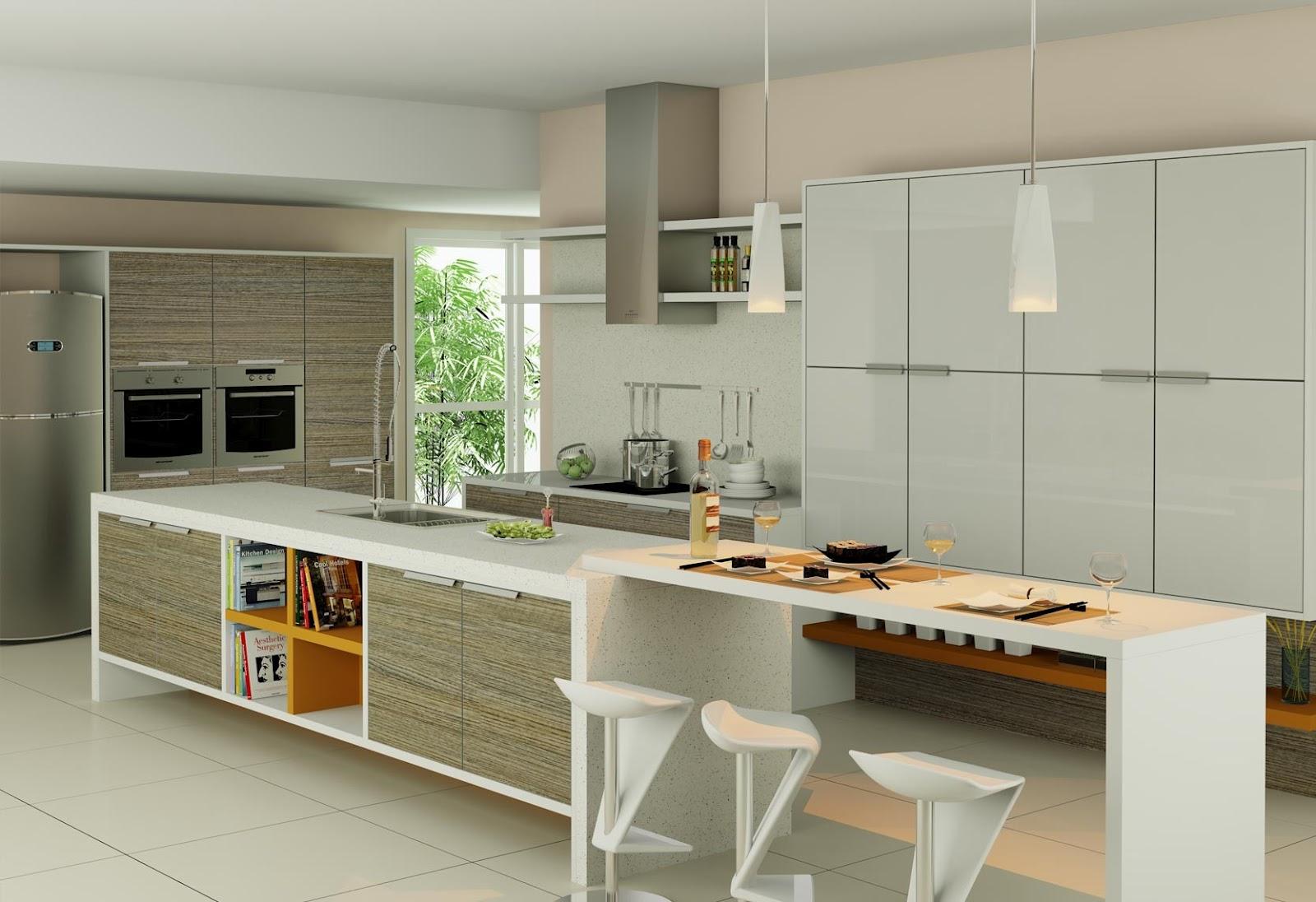 Lar Mobile Móveis Planejados: Cozinhas #9F712C 1600 1096