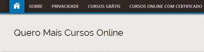 cursos grátis online, cursos gratuitos com certificado
