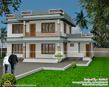 Flat Roof House Design Sachin. - Kerala Home
