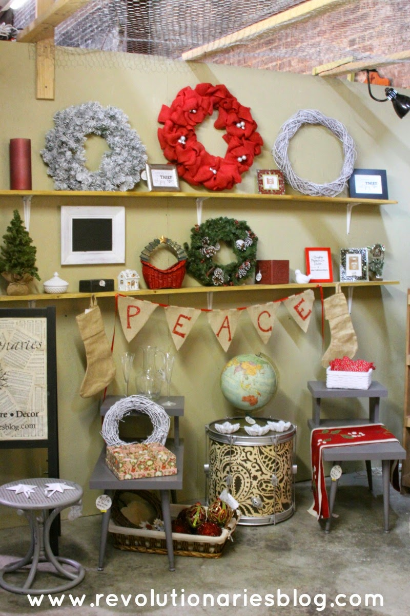 Christmas Craft and Furniture Booth 2014