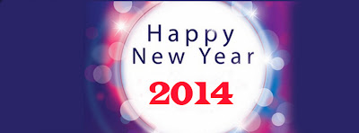 Beautiful Happy New Year 2014 Facebook Covers