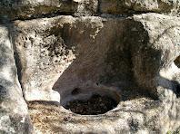 Detall de l'estructura final de la ginebrera