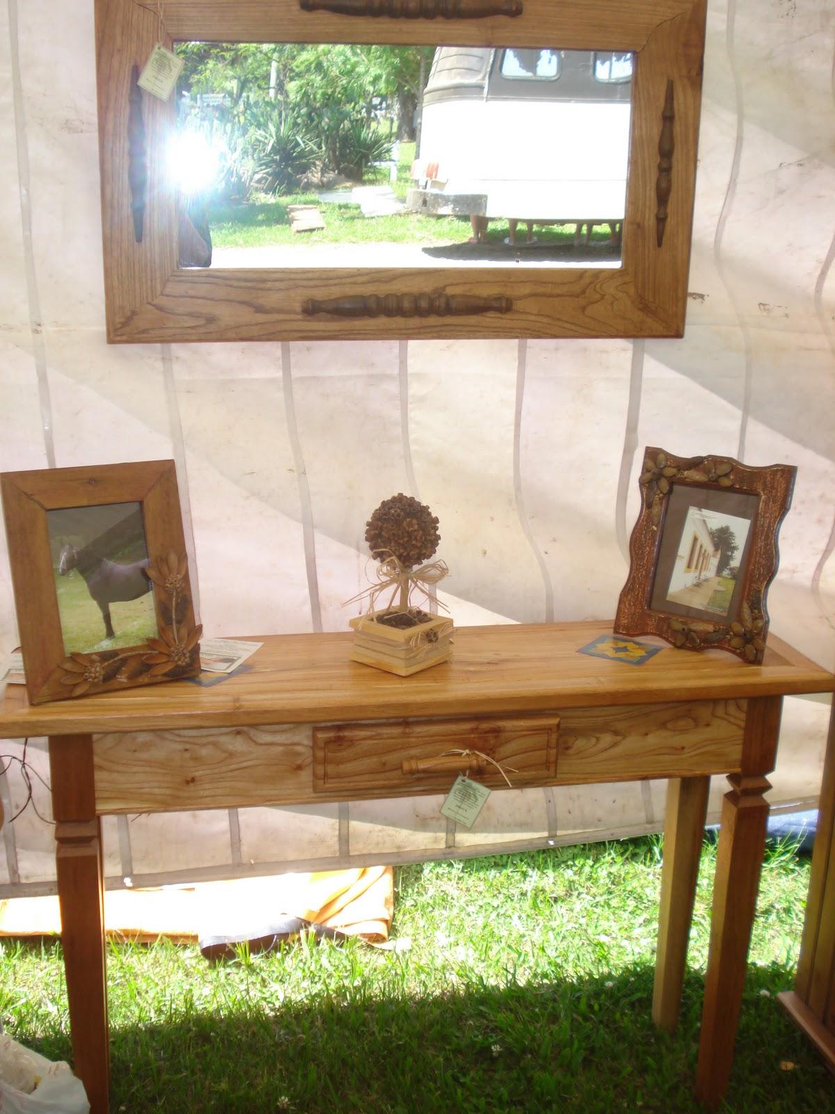 Jerivá Móveis e Artesanato: Aparador e espelho de madeira (Sinamomo) #332F0F 1200x1600