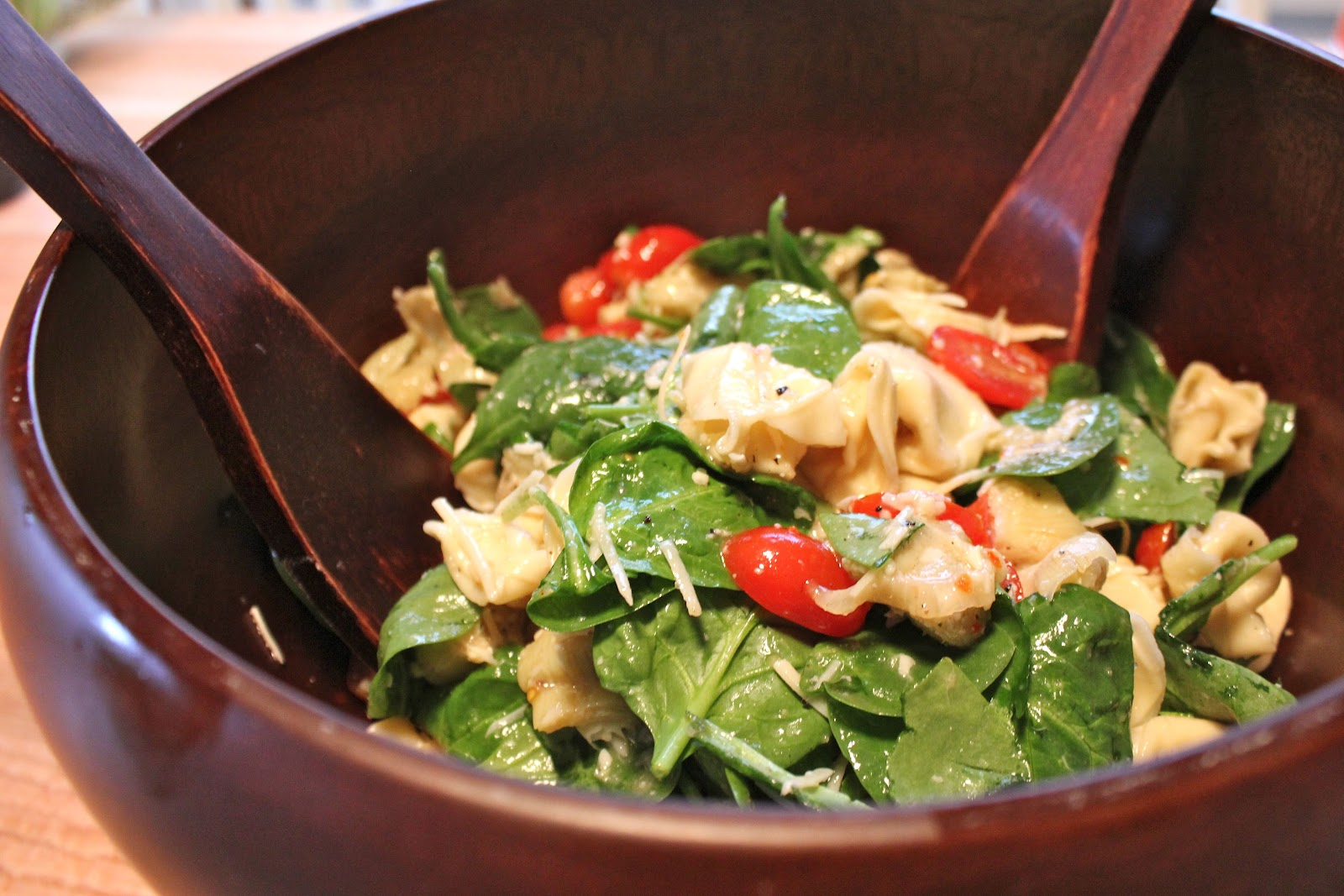 just a fork and a spoon: tortellini pasta salad