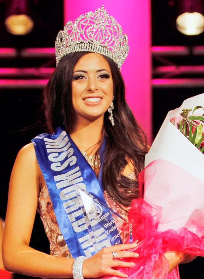 Miss World New Zealand 2014 winner Arielle Diane Garciano