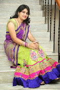 Krishnaveni glam in half saree-thumbnail-1