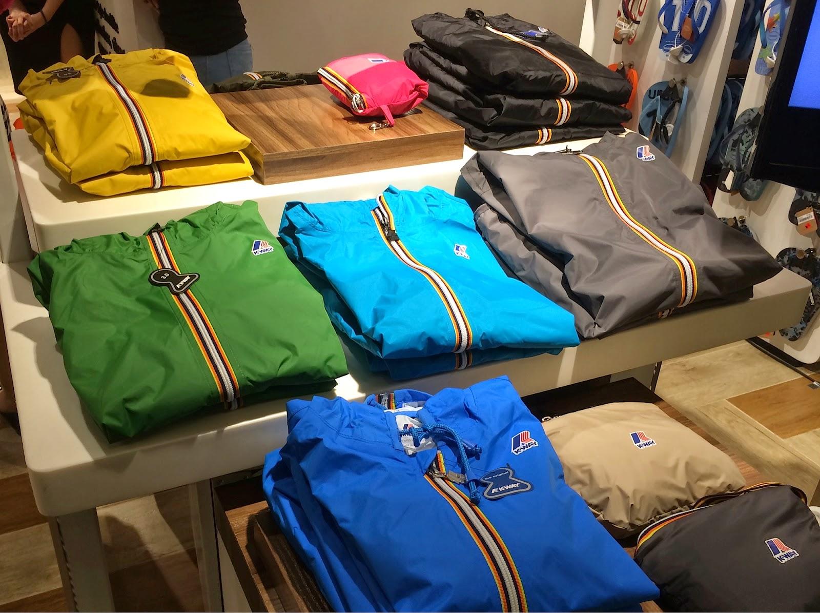 manila fashion observer: Rainy Days and K-Way