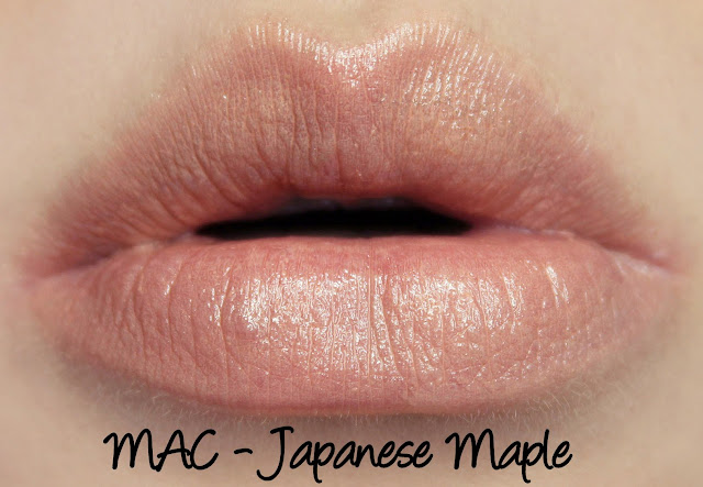 MAC Japanese Maple Lipstick Swatches & Review