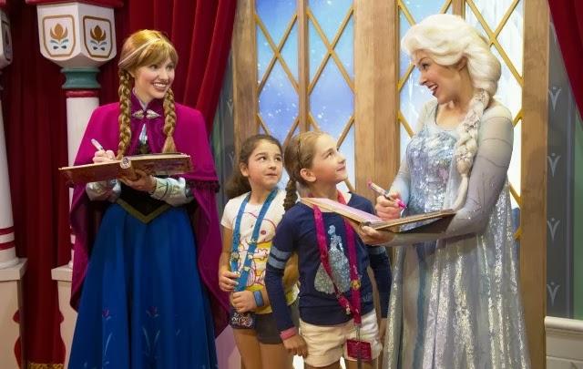 Princesas Frozen Disney Orlando