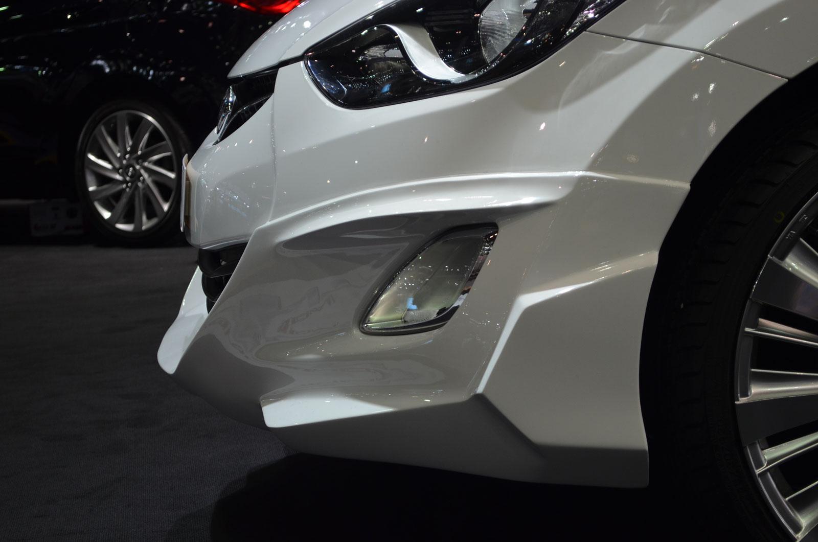 Hyundai elantra i40 avante bodykit sports modified