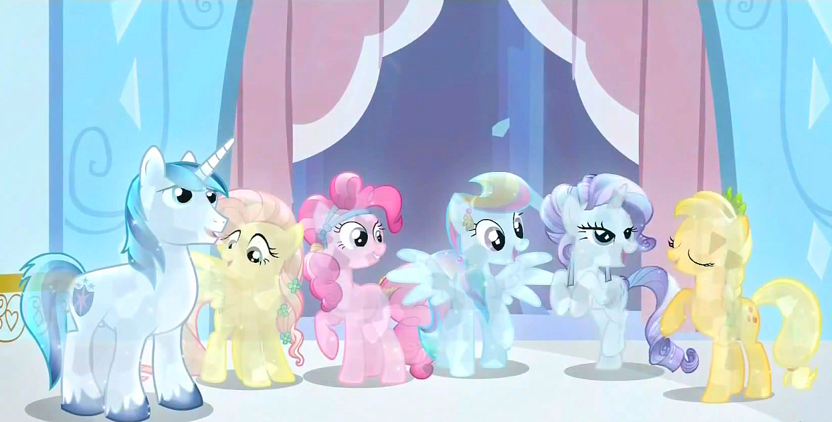 My Little Pony Crystal Empire DVD, Crystal Ponies, Friendship is Magic