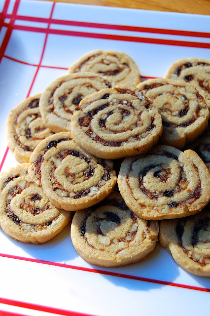 Betty's Date Pinwheels - Food Blogger Cookie Swap