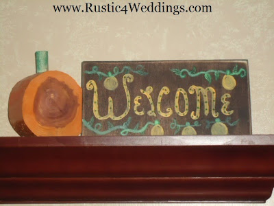 Fall Wedding Decorations For Sale
