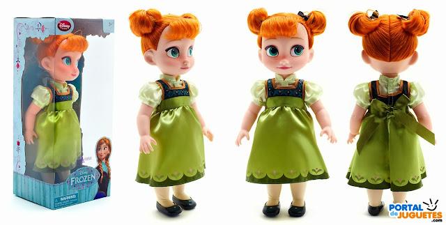 muñeca anna coleccion disney animators