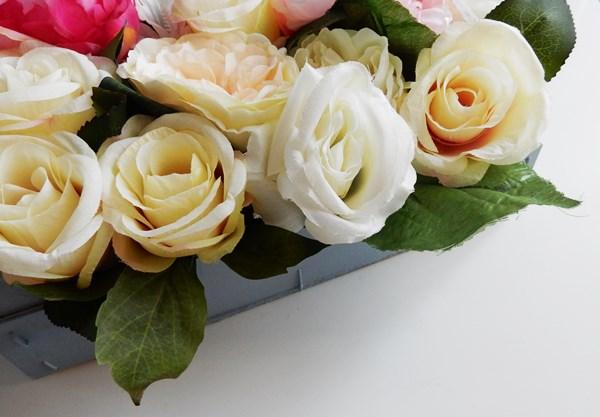 DIY : Caisse fleurie
