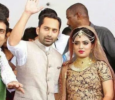 Nazriya Nazim Fahad Fazil Marriage Stills