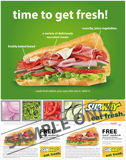 Subway Buy One Get One Free promotion is back