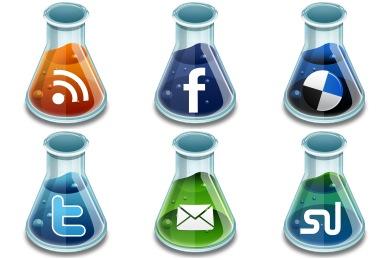 Social Media Beakers