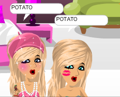 POTATO. YES WE ARE OBSESSED WITH POTATOES.
