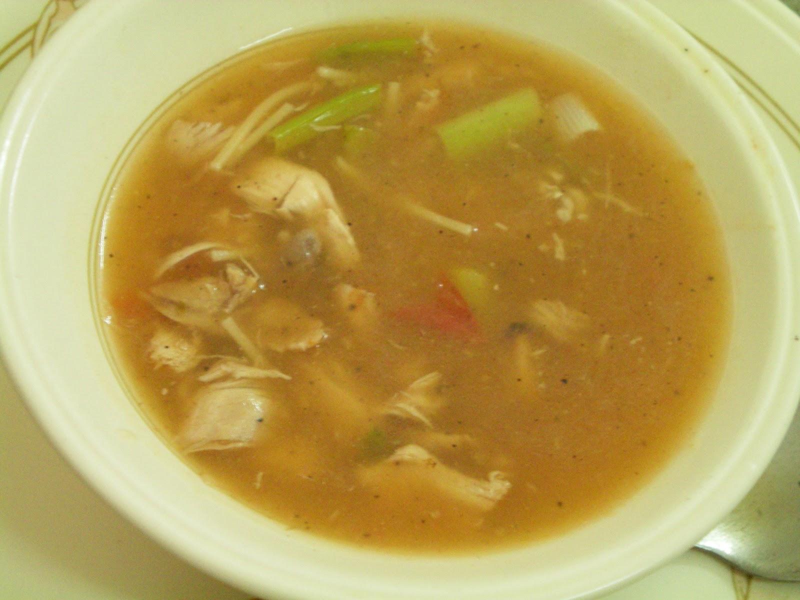 swetawriter: Chicken noodles soup- a healthy starter