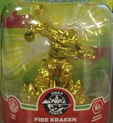 Fire Kraken Gold Skylander