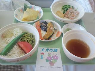 写真:パルス3クール初日の昼食