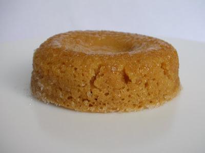 Dulce De Leche Lava Cake - before the 'volcano erupted'