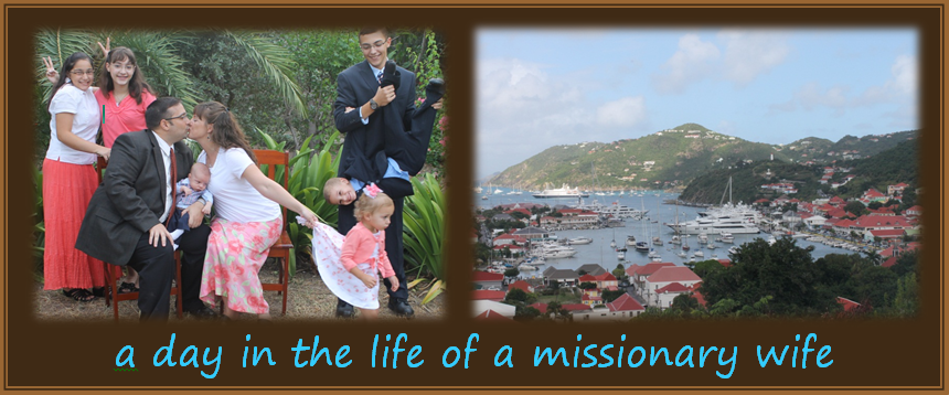 a day in the life of a missionary wife