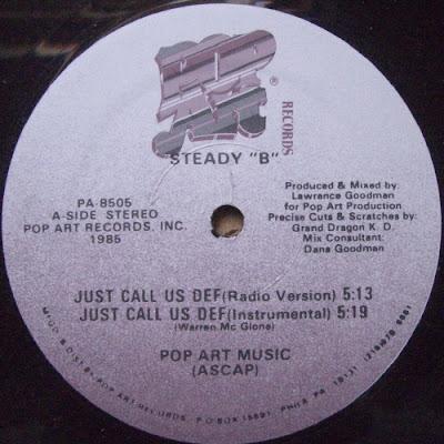 "Steady ""B"" – Just Call Us Def (VLS) (1985) (320 kbps)"