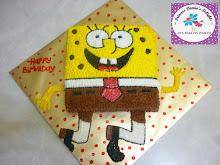 SPONGEBOB CAKE (RM80-RM100)