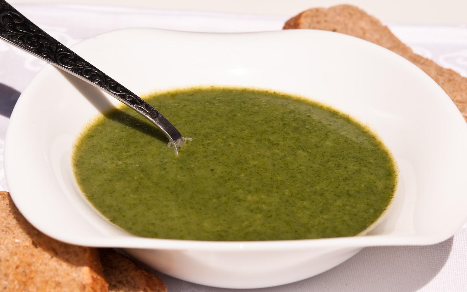 Крем-супа от спанак