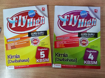 Fly High Kimia Tingkatan 4 dan 5 terbitan Cerdik Publications