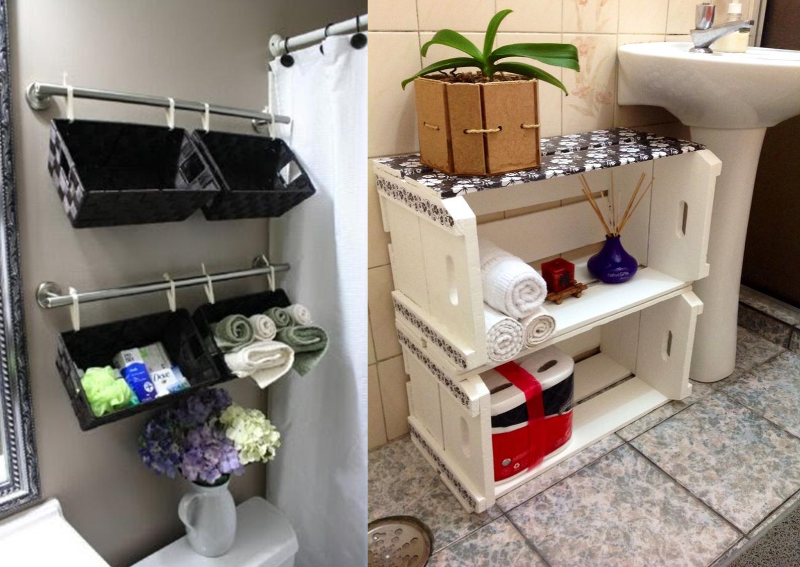 Princesas do Rei CAIXOTES DE MADEIRA  DECOR # Como Fazer Armario De Banheiro Reciclado