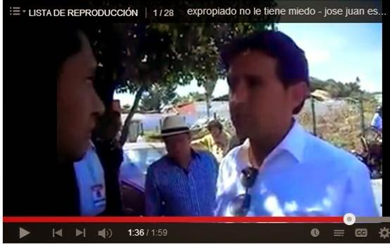 VIDEO: Expropiado de Cholula reclama al edil José Juan Espinos.