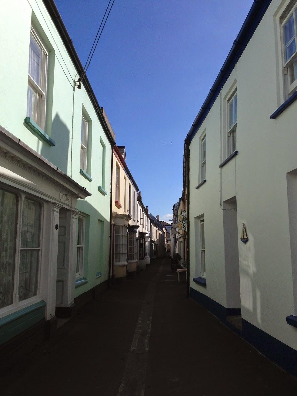 Narrow streets, Appledore, Devon