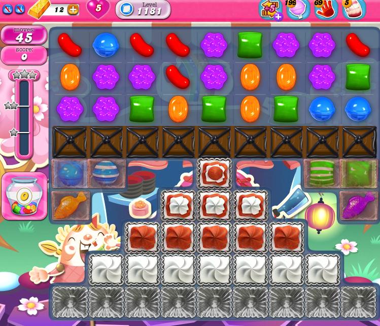 Candy Crush Saga 1181