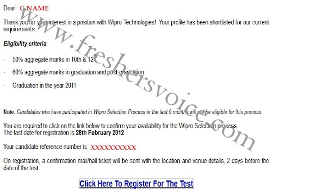 Wipro offcampus March 3-Mail