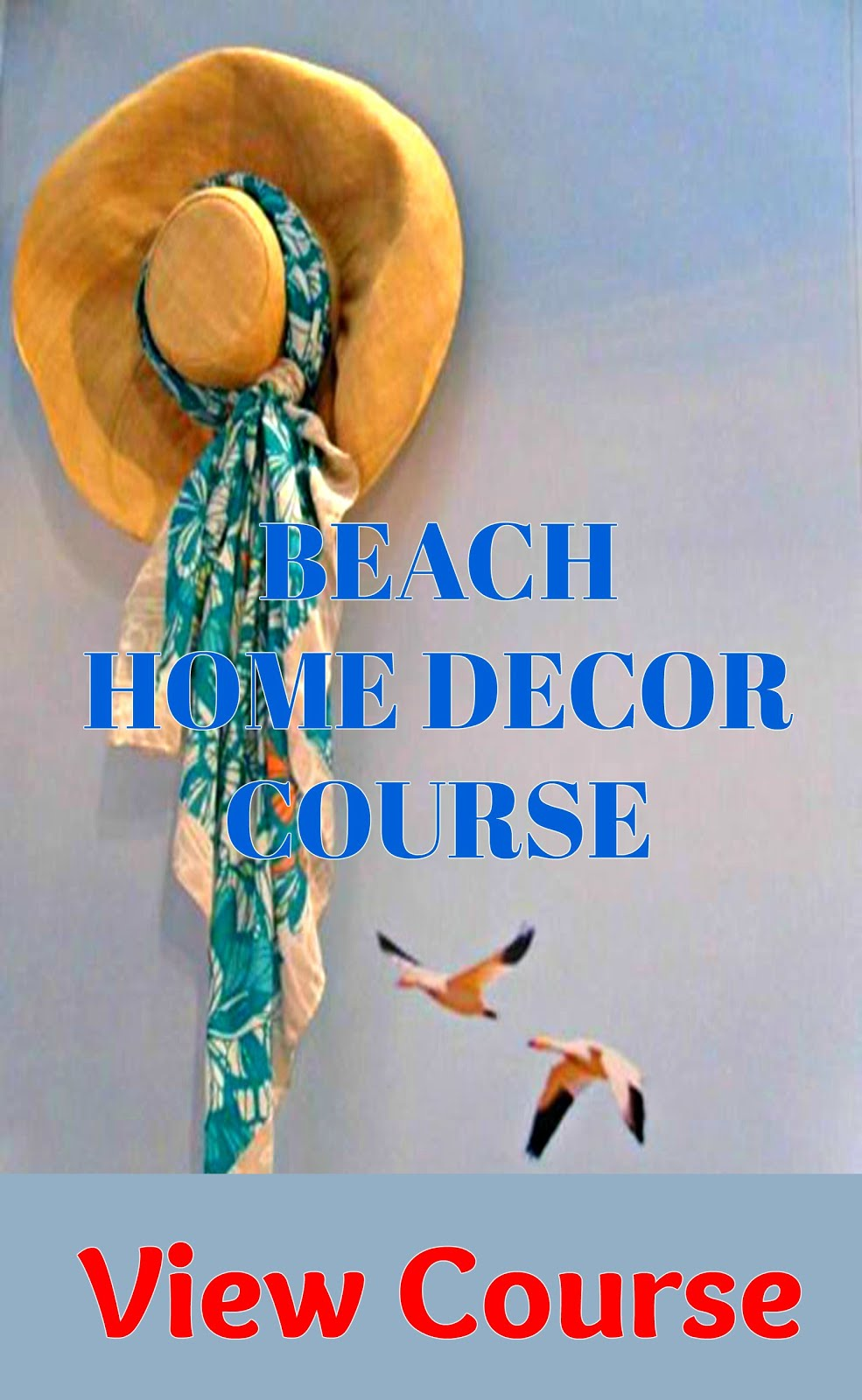 Beach Home Decor Course