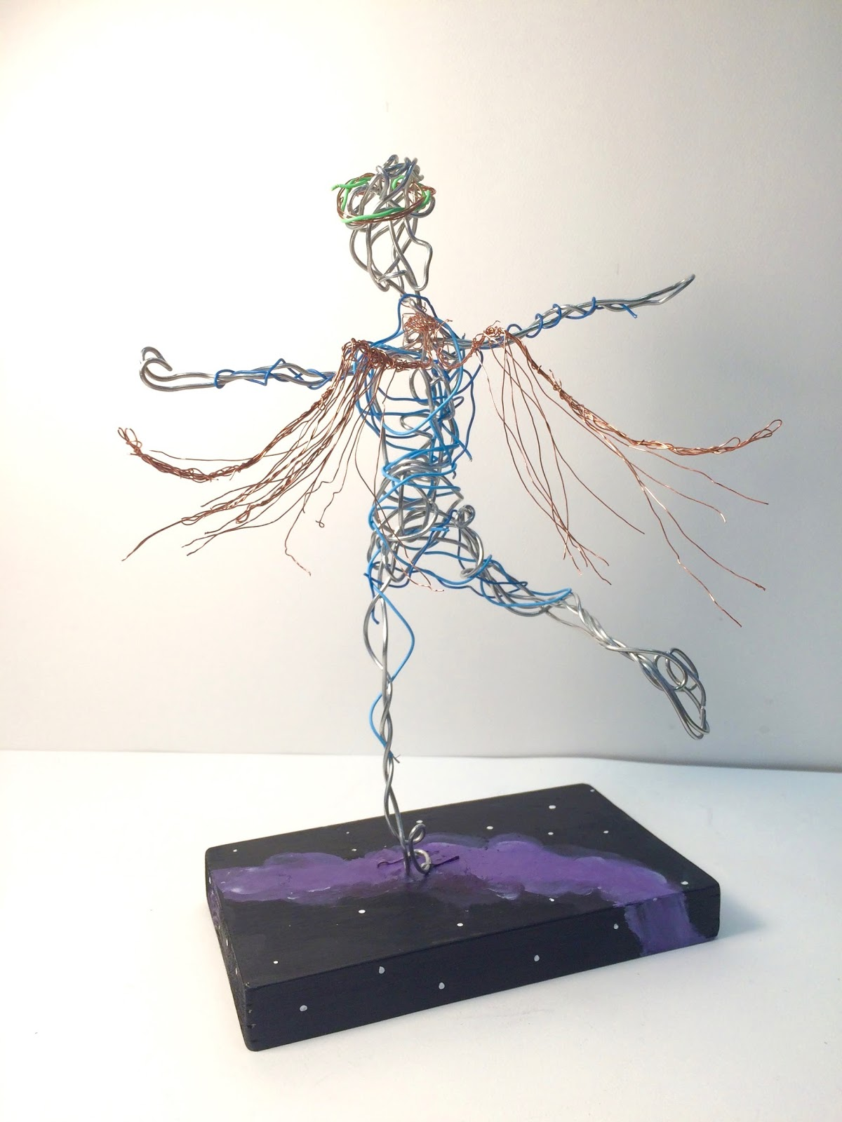 Wire Gesture Figures- 8th Grade | Mr. V.\'s Art Room