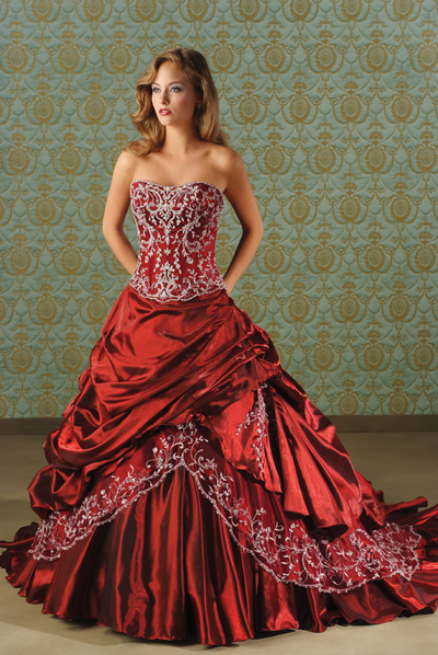 Beautiful Red Wedding Gowns Have your Dream Wedding