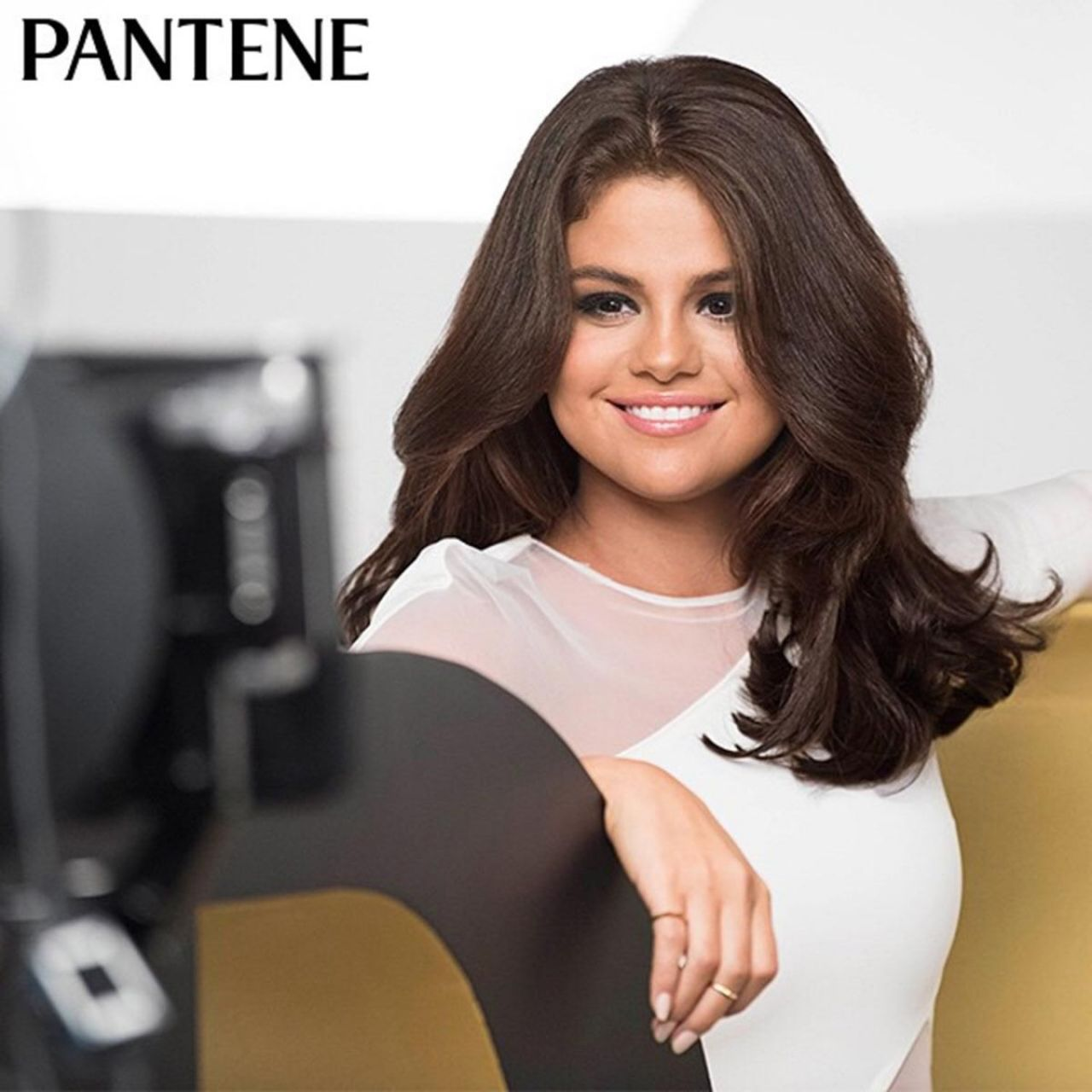 Selena Gomez stuns as the new face and hair of Pantene