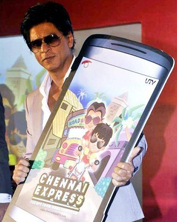 Shahrukh Khan launches the official game of chennai express