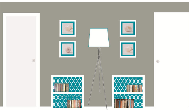 The handcrafted life to scale room planning guest bedroom for Scale room planner
