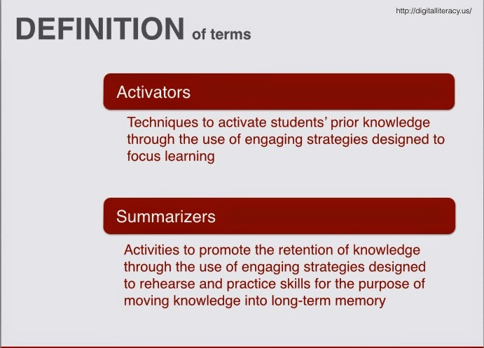 Activators and Summarizers with Mobile Devices