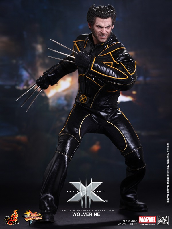 Hot Toys MMS187 X-Men The Last Stand Wolverine 1//6 Scale Metal Claw