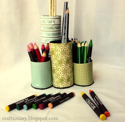 paper pen holder