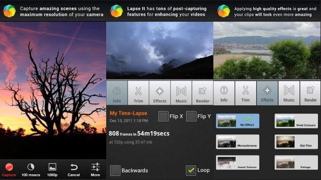 Aplikasi kamera android yang cepat