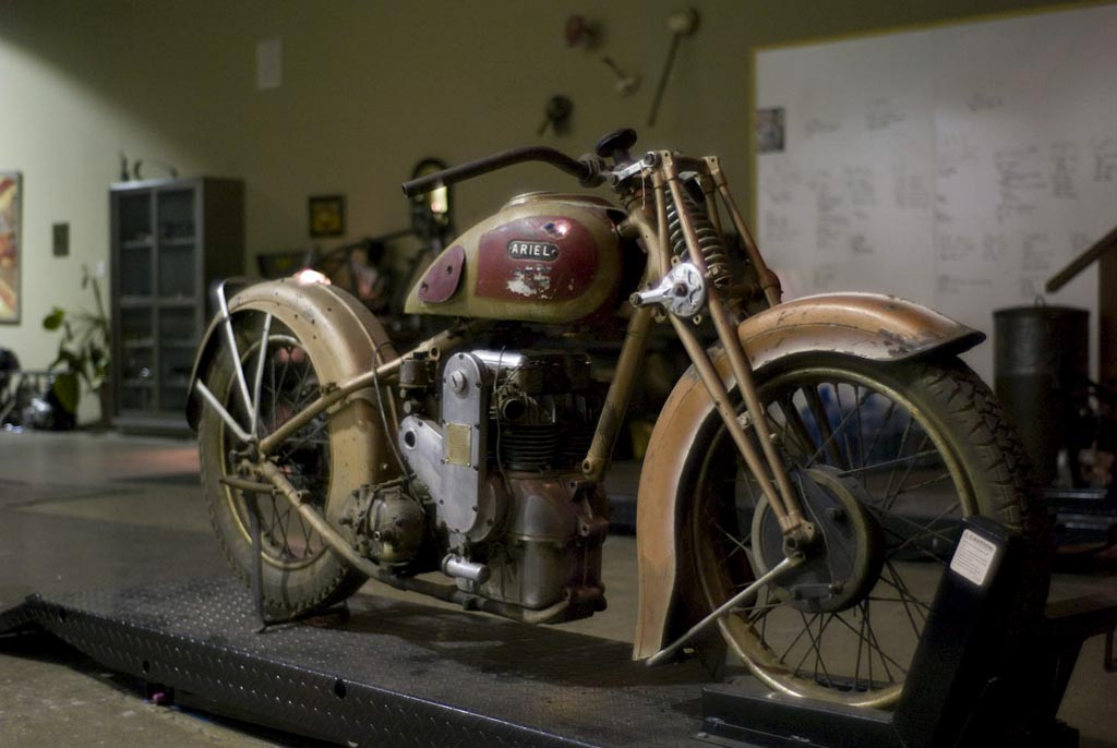 Falcon Motorcycles Workshop Return Of The Cafe Racers